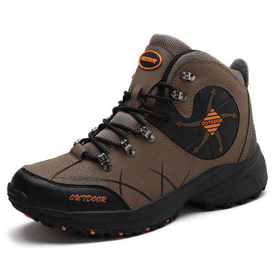 AILADUN Men's Casual Waterproof Outdoor Short Boots Durable Sports Hiking Shoes