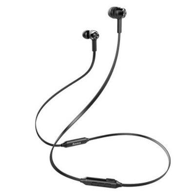 Baseus S06 Bluetooth Stereo Sports Earphone Magnetic Neckband Earbuds with Mic and In-line Control