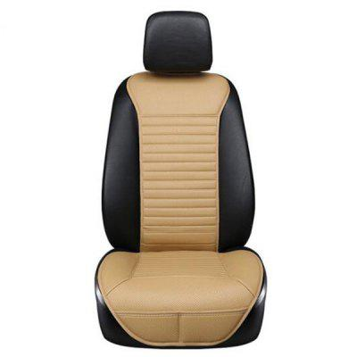 AutoYouth Luxury PU Leather Car Seat Cushion Suit for Most Cars with Slim Waistline Backrest