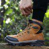 AILADUN Men's High-top Outdoor Tooling Boots Casual Slip Resistant Keep Warm Shoes - LIGHT BROWN