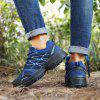 AILADUN Men's Striped Sneaker Outdoor Sports Shoes Casual Slip Resistant Hiking Footwear - BLUE