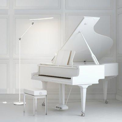 46cm lang Lampenkap Piano Floor Lamp 3 Helderheidsinstelling Verminder Blue Light Beschermende Eyes Reading LED Light van Xiaomi youpin
