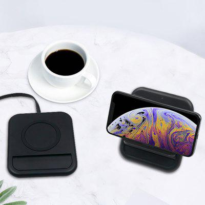 OJD - 43 Folding Vertical Creative 10W Fast Charge Wireless Charger