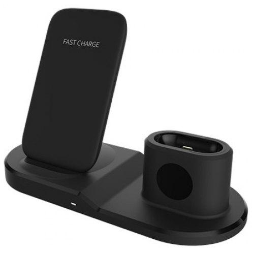 OJD - 45 3 in 1 Wireless Charger Fast Charging for iPhone AirPods iWatch