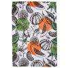 Cartoon Pumpkin Orange Pattern Double-sided Flannel Home Nap Warm Blanket - MULTI