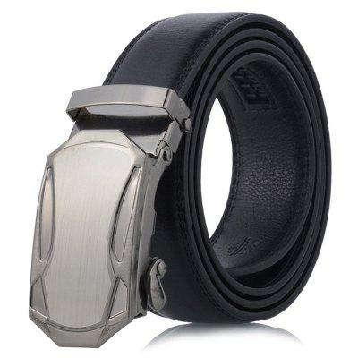 Men's Sports Car Head Automatic Buckle Belt Stylish Business Waistband