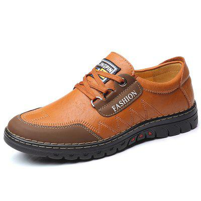 AILADUN Men's Business Casual Shoes England Soft Outsole Footwear