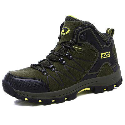 Large Size Men's Autumn And Winter High-top Hiking Boots -8017 Million Rounds