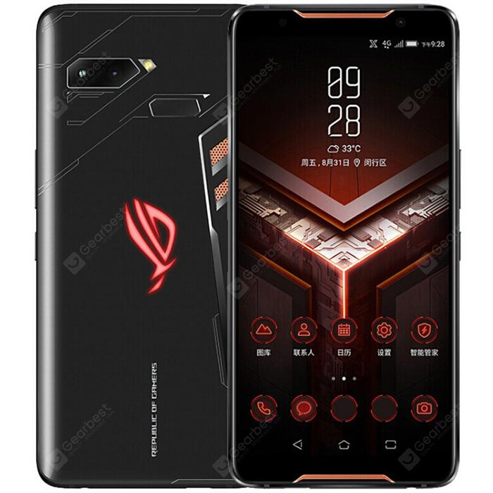 ASUS ROG ZS600KL Gaming Phone 4G Phablet 8GB RAM 128GB ROM Global Version - Black Standard Version