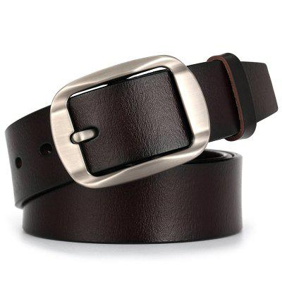 Men's Leather Pin Buckle Belt Casual Retro Waistband