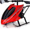 HX713 2.5CH RC Helicopter Radio Remote Control Night Light Aircraft Toy - RED