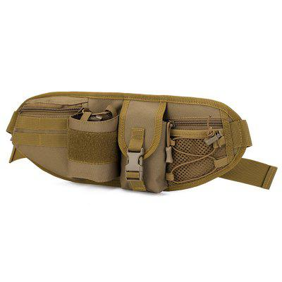 Unisex Canvas Personality Waist Bag Fashionable Design Practical Travel Pack