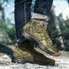 AILADUN Men's Outdoor Sports Boots Fashion Camouflage Warm Shoes Anti-collision Toe - GOLD