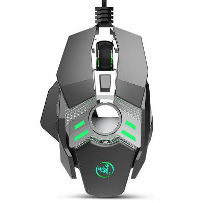 HXSJ J200 Wired 7-button 6400 DPI Programmable Gaming Mouse - a Professional Gaming Gadget at Only $12.99!