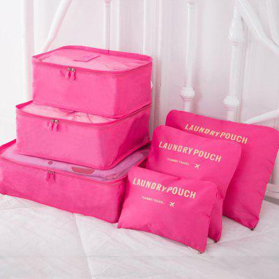 Travel Storage Clothes Daily Necessities Classification Package Portable Large Capacity Storage Bag Set