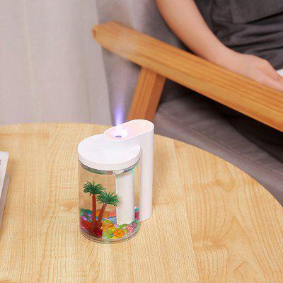 USB Charging Simulation Landscape Humidifier Household Air Atomizer Night Light for Office Desktop Car