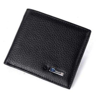 Man Multi-function Bluetooth Positioning Smart Anti-loss Wallet Short GPS tracking Money Clip