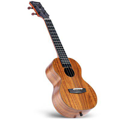 ENYAMUSIC U1K LED APP Smart Ukulele Offers Free Courses For Beginners That Allow You to Play in an Hour!
