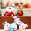 Christmas Tree Decoration Pendant Cartoon Doll Bell Hanging Ornaments 8pcs - MULTI-A