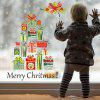 Merry Christmas Gifts Creative Wall Sticker Living Room Bedroom Window Glass Decorative Sticker - MULTI-A