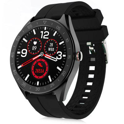 Alfawise horloge 6 47mm Smart horloge 24 Hours Health Data Monitor 7 Sports Modes Call Message Reminder Music Camera Control