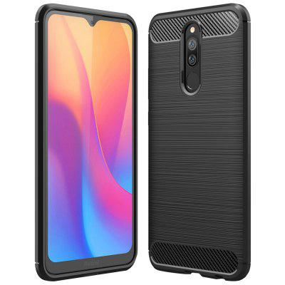 ASLING TPU Soft Shell Carbon Fibers телефон чехол для Xiaomi редми 8А / 8