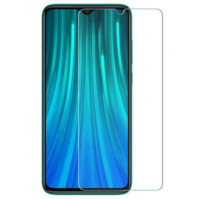 QULLOO 2.5D Full Coverage Protector Screen Protector voor Xiaomi redmi Toelichting 8 Pro 2 stuks