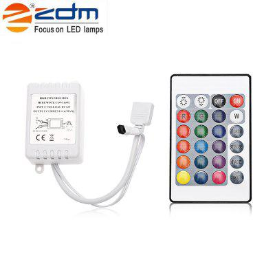 At Under $6, ZDM 24W 5M LED Strip Light with 24-key IR Remote Controller Kit Is What You Need to Prepare for Christmas!