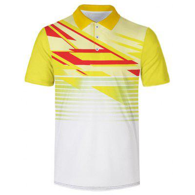 Men's Short Sleeve Print T-shirt Outdoor Casual