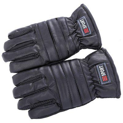 Herrenmode Warmer Winter Voller Finger Handschuhe Outdoor Reiten Anti-kalter Handschuh