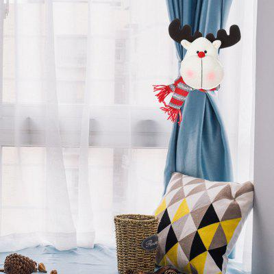 Christmas Decoration Cartoon Curtain Buckle