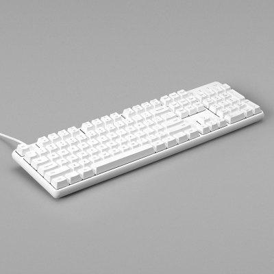 Yuemi MK03C TTC Hybrid Shaft Mechanical Keyboard 104 Keys