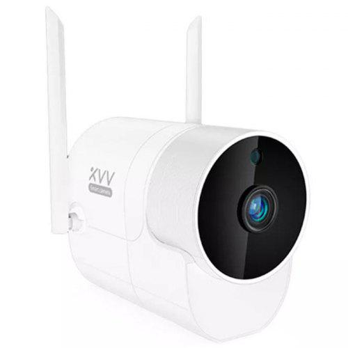 Xiaovv XVV-1120S-B2 Smart 1080P 180° Outdoor Panoramic Camera Onvif Waterproof H.265 Infrared Night Vision Home Safety Baby Monitor ( Xiaomi Ecosystem Product ) - White Chinese Plug (2-pin)