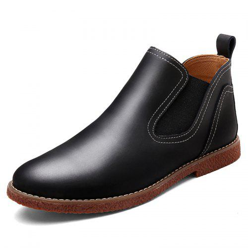 Men's Autumn Winter Chelsea Boots Convenient Slip on Design