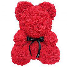 Rose Big Hug Bear Creative Foam PE Flower Bear Wedding Valentinsdagsgave