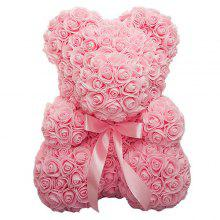 Rose Big Hug Bear Creative Foam PE Flower Bear Wedding Valentine's Day Gift
