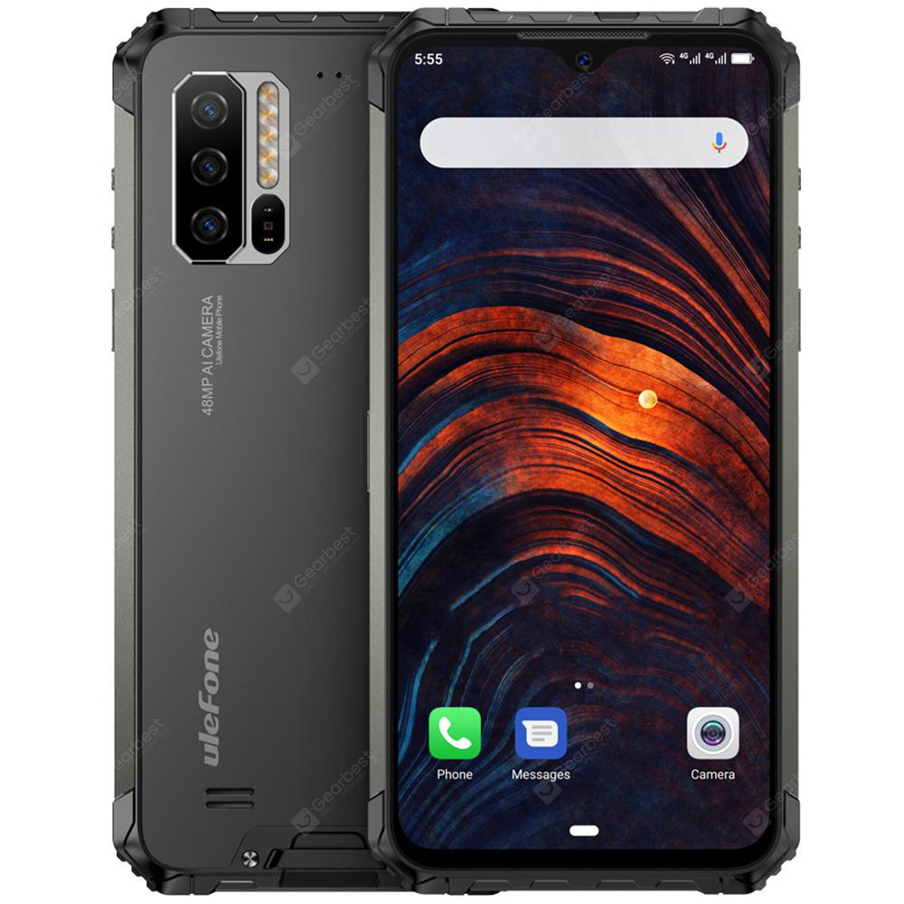 Ulefone Armor 7 4G Phablet 6.3 inch Android 9.0 Helio P90 Octa Core 8GB RAM 128GB ROM 3 Rear Camera 5500mAh Battery Global Version from Gearbest