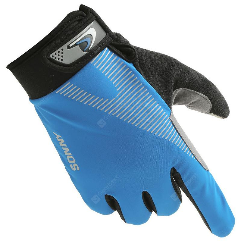 Slip for Motorcycle Driving Outdoor Sports Mens Gloves Leather Touch Screen Outdoor Winter Gloves Touchscreen Gloves Thick Anti