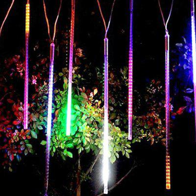Romantic Meteor Shower LED Lights Outdoor Waterproof Festival Lighting Water Garden Decorative Light String