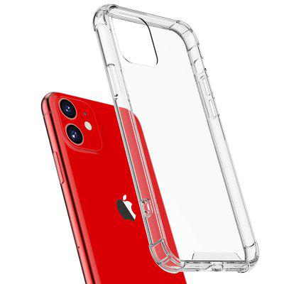 Naxtop Reinforced Corners Ultra Slim Clear TPU Silicone Soft Shockproof Phone Case for iPhone 11 Pro Max / 11 Pro / 11 / XS Max / XR / XS / X