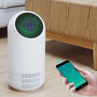 Alfawise P2 HEPA Smart Air Purifier WiFi AI Voice Control 3 Wind Speeds Touch Screen Low Noise 110m³/h CADR 3-layer Filter System