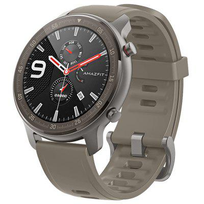 AMAZFIT GTR 47mm Smart Watch Titanium Edition 24 Days Battery Life 5ATM Waterproof GPS GLONASS 12 Sports Modes 326ppi AMOLED Screen Global Version (Xiaomi Ecosystem Product)