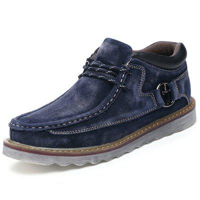 AILADUN Men's Low-top Botas Casuais Ao Ar Livre Large Toe Tooling Shoes