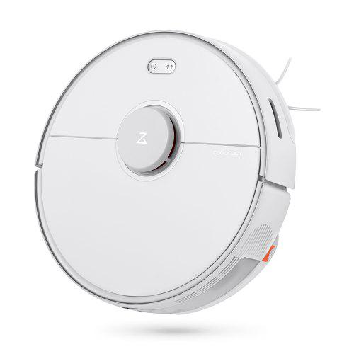 Gearbest Roborock S5 Max Laser Navigation Robot Vacuum Cleaner 2000Pa Mop with 290ml Water Tank AI Recharge and Resume Support Alexa Google Home from Xiaomi youpin - White EU Plug Large Capacity Water Tank, Updated Mopping Function, Customized Suction and Water Volume for Individual Rooms