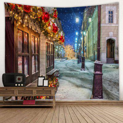 Christmas Scenery Creative Home Bedroom Living Room Decoration Tarpaulin Tapestry Beach Cushion Shooting Background Cloth