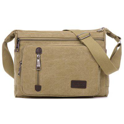 Masculin mare capacitate panza crossbody Geantă de umăr Single Travel Pack