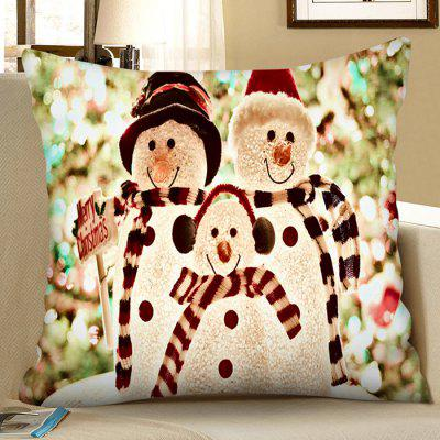 Kerstmis Decorative Pillow Case Digital Printing Plein Pillow Cover Sofa Kussenhoes