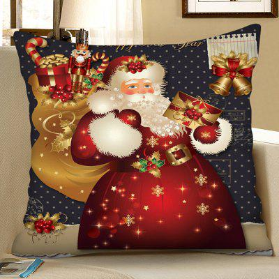 Christmas Digital Printing Square Pillow Case Sofa Cushion Cover