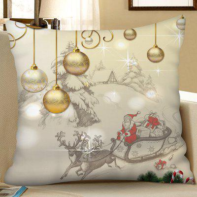 Christmas Decoration Digital Printing Square Pillow Case Sofa Cushion Cover