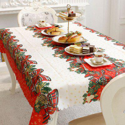 Christmas Party Decoration Fabric Printing Obrus